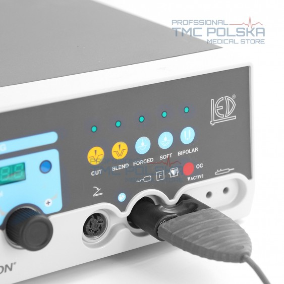 Adapter do podłączenia przewodu bipolarnego Surtron diatermia 80/120/160 (nowa wersja)